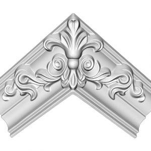 Потолочные профили комбинированные, с литыми углами